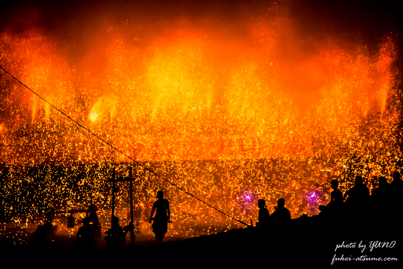 手力の火祭・手筒花火