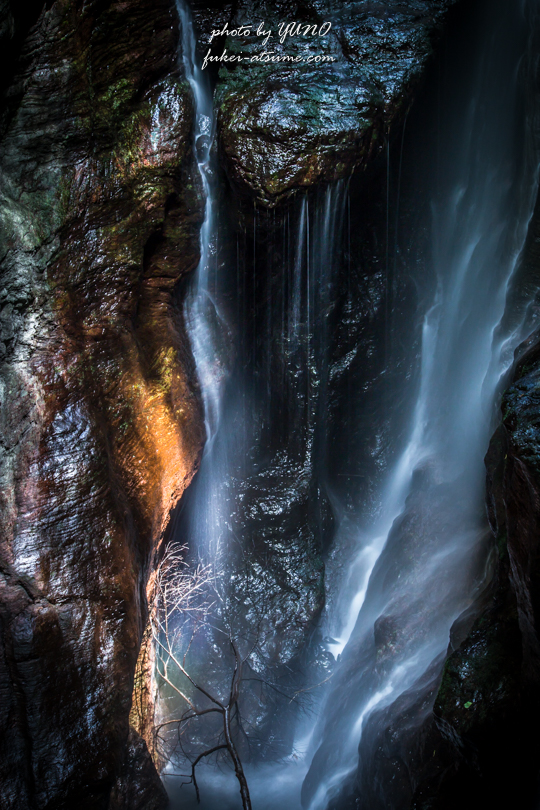 高知・中津渓谷最深部・雨竜の滝2