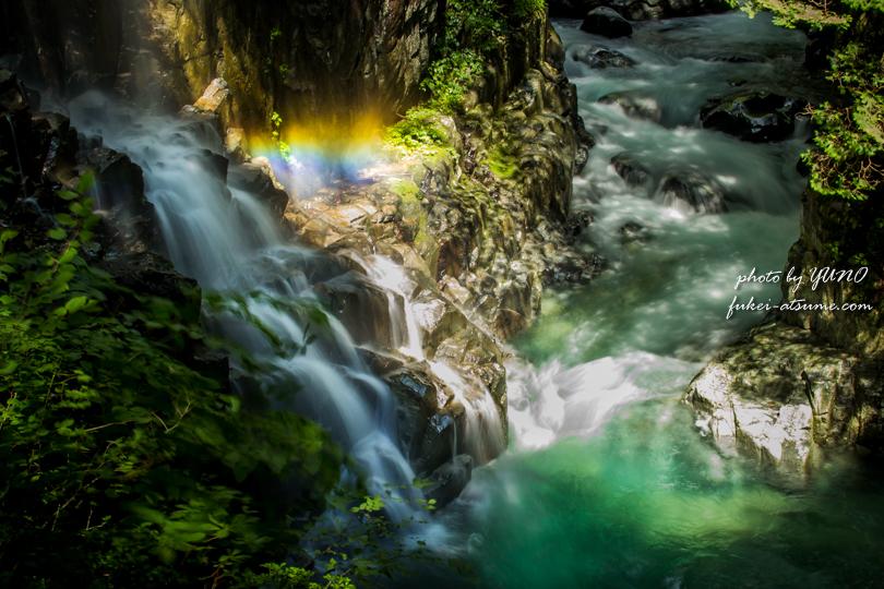 付知峡・滝2