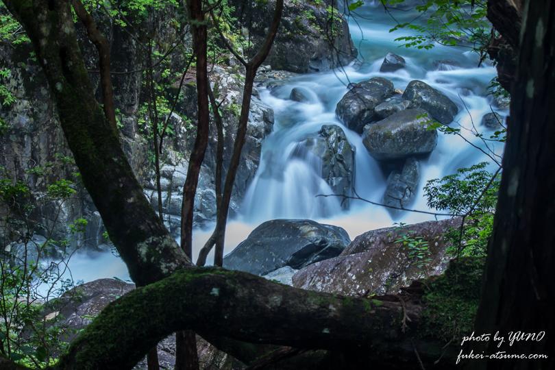 付知峡・滝4