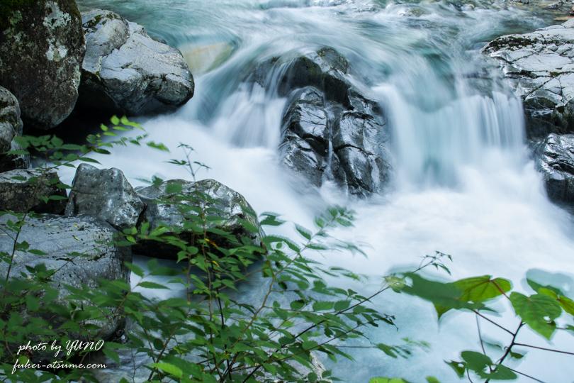 付知峡・滝3