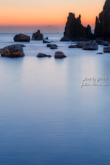 和歌山・夜明けの海
