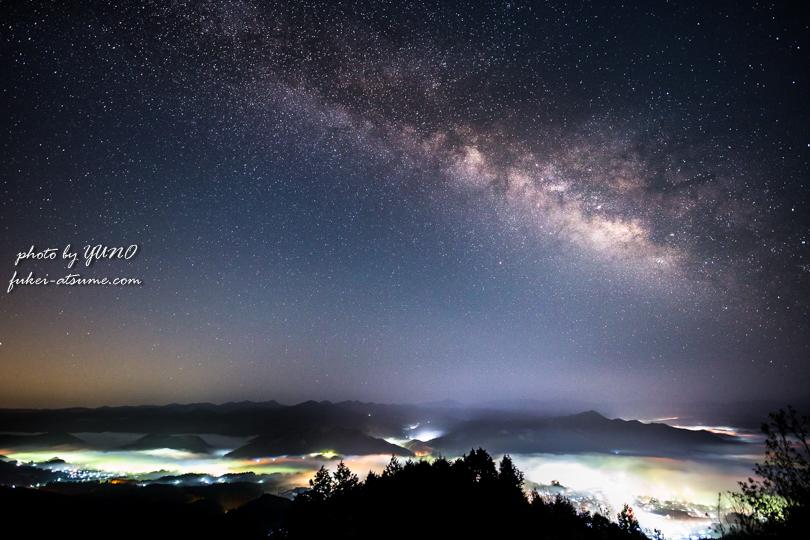 奈良・天の川・雲海・星景・星空撮影・canoneos6D