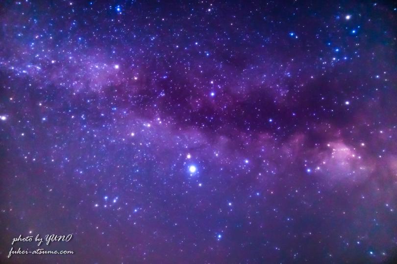 天の川・銀河・星空・星景・奈良・御杖村・みつえ高原牧場3