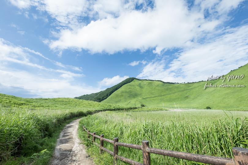 奈良・曾爾高原・夏・緑・草原・夏空・青空・風景撮影4