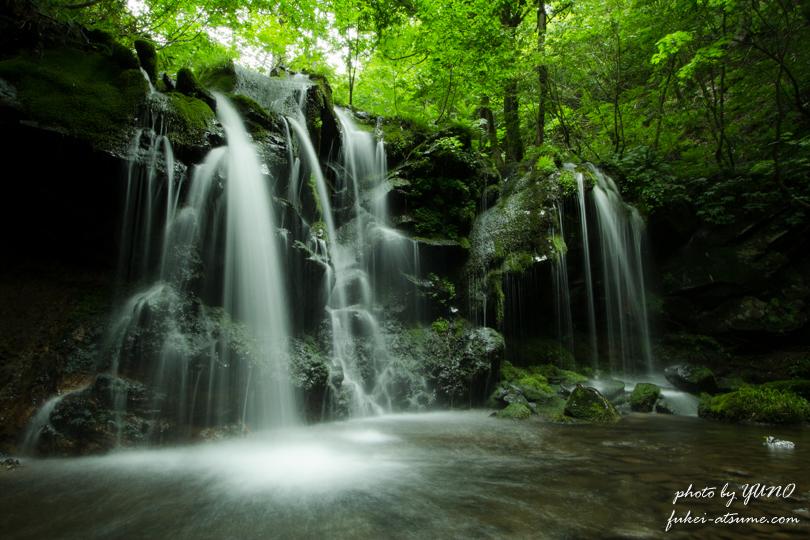 兵庫・新温泉町・猿壺の滝・神秘・繊細・名瀑・滝撮影5