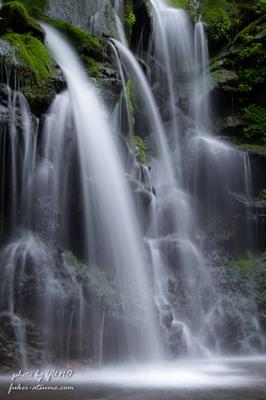 兵庫・新温泉町・猿壺の滝・神秘・繊細・名瀑・滝撮影7