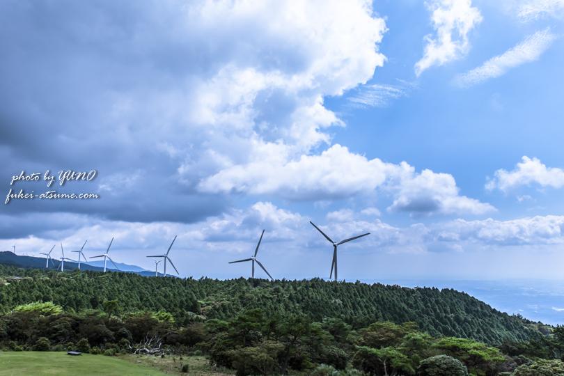 三重県・伊賀市・津市・青山高原・風車・風の集まる場所2