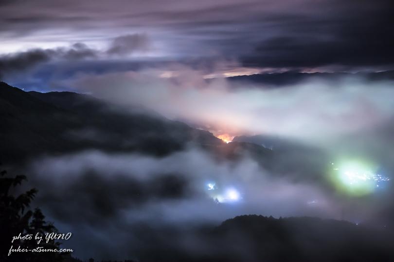 雲海・夜景・霧・一眼レフカメラ撮影3
