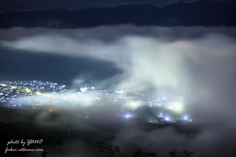 雲海・夜景・霧・一眼レフカメラ撮影4