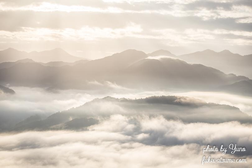 奈良・雲海・光・太陽・朝陽