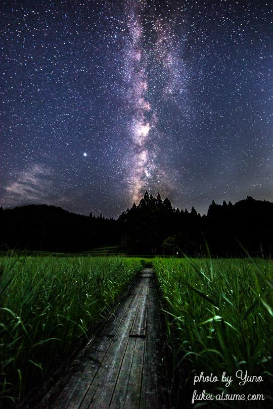 奈良・星空・星景・天の川・風景・夜景