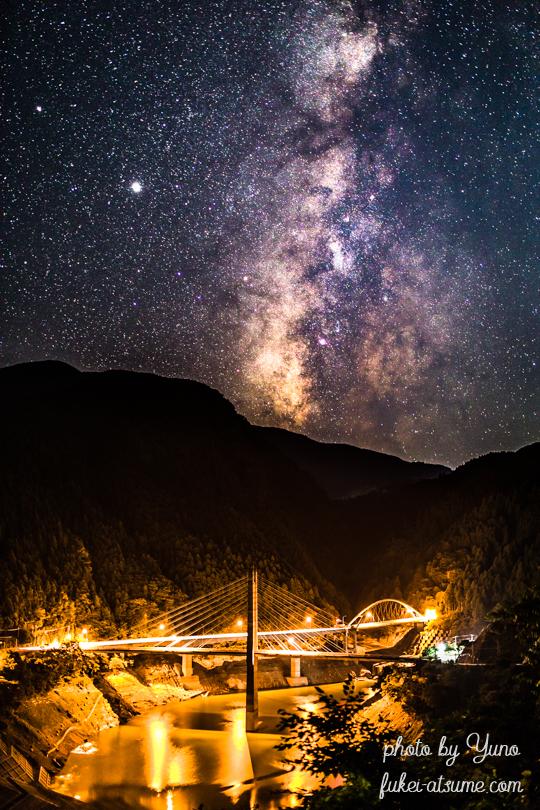 奈良・天の川・銀河・星空・星景